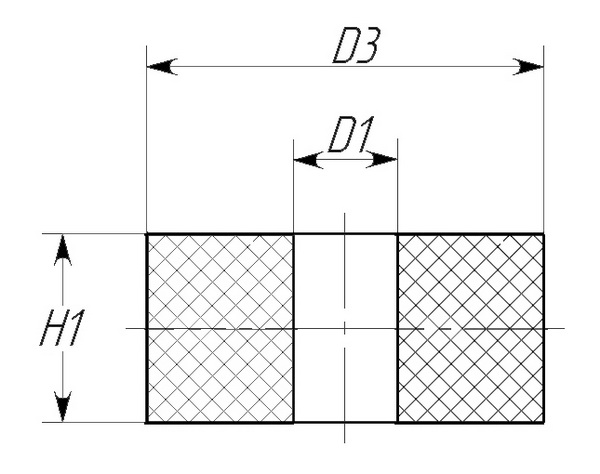 Подушка стойки стабилизатора передней подвески 14-03-012